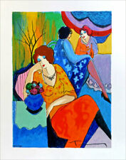 Itzchak TARKAY Quiet Afternoon SIGNED Limited Edition Serigraph Print
