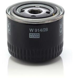 Mann Oil Filter fits Fiat DUCATO 250_, 290_ 150 Multijet 2,3 D