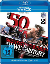WWE The 50 Greatest Finishing Moves In WWE History 2x BLU-RAY DEUTSCH
