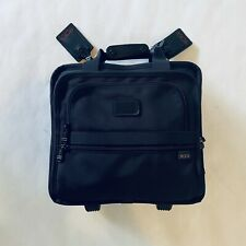 Tumi Ballistic Nylon Rolling Boarding Wheeled Briefcase 2214D3 Carry On