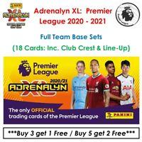 Adrenalyn XL - Premier League 2020 - 2021: Full Team Base Sets (18 Cards)