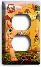 LION KING BABY SIMBA AND NALA OUTLET WALL PLATE COVER INFANT NURSERY ROOM DECOR