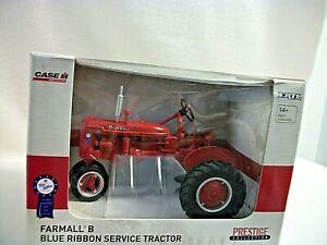 ERTL Farmall B Blue Ribbon Service Tractor - 1:16 Scale