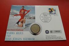 * Numisbrief 1994 mit Schweden 1 Krone 1993 *Olympia 1994