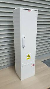 GRP Electric Enclosure, Kiosk, Cabinet, Meter Box, Housing (W260, H1084, D245)mm