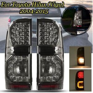 🔥 Pair Rear Tail Light Lamp For Toyota Hilux Vigo MK7 SR SR5 Workmate 2004-2015