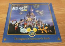 Walt Disney World 2005 - 2006 16 Month Outdated Collectible 50th Calendar