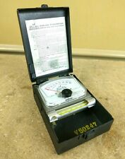 Vintage Van-Air Analog Pyrometer 400-S Red Pointer 600 Degrees Pocket Probe