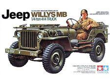Tamiya 35219 Jeep Willys MB 1/4 Ton Truck 1/35 Scale Plastic Model Kit