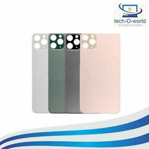 Replacement New Rear Glass Battery Back Cover For iPhone 11 Pro Big Hole