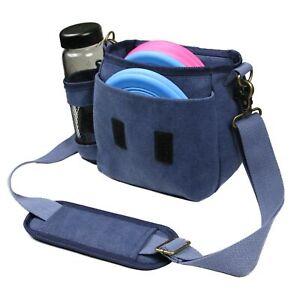 Disc Golf Bag Canvas Disc Golf Shoulder Bag Storage Organizer Adjustable Strap