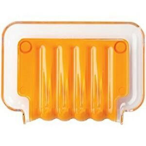 Better Living Products 13302 The Trickle Soap/Sponge Tray, Orange
