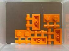 LEGO Parts - Orange Plate 1 x 2 w Handle on Side - No 2540 - QTY 5