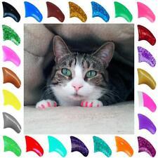 Мягкий Purrdy лапы ногтей Caps для кошка когти уход ~ 6 месяца поставки Xtra клей