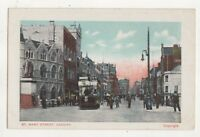 St Mary Street Cardiff Vintage Postcard Glamorgan South Wales 750b