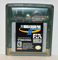 F1 WORLD GRAND PRIX II NINTENDO GAMEBOY COLOR GBC GAME