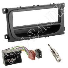 FORD C-MAX DM2 Blende Radioblende + Ablagefach schwarz ISO Adapterkabel Antenne