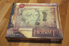 NEW SEALED The Hobbit 1000 Puzzle Middle-Earth Map Tolkien Lord of the Rings