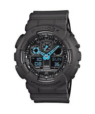 Casio G-Shock GA100C-8ACR Classic Trending Series Dark Grey Blue Ana-Digi Watch