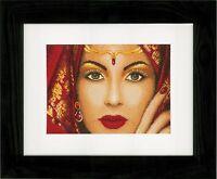 Oriental Beauty (Evenweave):  Lanarte Counted Cross Stitch Kit - PN0156937
