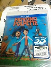 Cloudy With a Chance of Meatballs - Piovono Polpette - Italian (Blu-ray Disc,3D)
