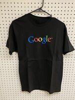Google Graphic Logo Black Spellout T-shirt Sz L