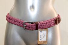 bonito cinturón trenzada rosa PAUL SMITH 96 cms NUEVA/ETIQUETA valor