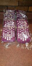 NEW MIP Lot of 10 Pairs of CARDINAL HEALTH Purple Socks Adult size XXXL / 3X