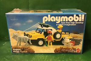 1984 Playmobil RANGE ROVER No. 9766 Mattel NOS Vintage Unopened in Cellophane