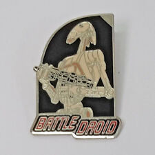 """Star Wars Episode One Battle Droid Pin 2"""" - FREE S&H (SWPI-60)"""