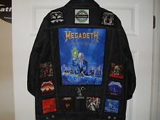 THRASH BIG 4 Tribute Jacket-XL-Blue..........Metallica,Slayer, Anthrax,Megadeth