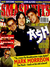 SMASH HITS 1996 MARK MORRISON ASH RONAN KEATING DODGY BILL TARMEY OASIS