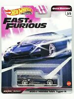 Hot Wheels Honda NSX Type R 2003 Fast and Furious Quick Shifters GBW75-956J 1/64