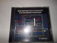 Yamaha 2006 Motorcycle/Scooter Color Wiring Diagrams  CD ROM #  LIT-CDSRV-WD-06
