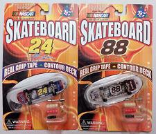 MINI SKATEBOARD - Lot of 2 NASCAR JEFF GORDON & DALE JARRETT LIMITED EDITION
