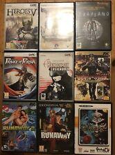 Lote De Juegos PC Versiones Españolas.Broken Sword Runaway Prince Of Persia ..