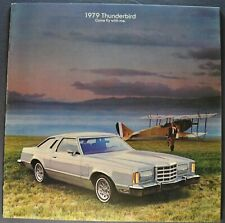 1979 Ford Thunderbird Brochure Town Landau Heritage Excellent Original 79 T-bird