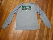 Boston Celtics Adidas Climalite Long Sleeve Shirt NBA Basketball Size Large