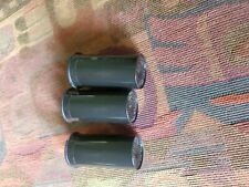 Qty 3 13 Dram Black Opaque Medical Pop Top Containers Herb Pill Vial by Phillips