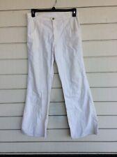 Vintage Men's Levi's White 70s Flared Pants 34x32