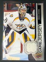 2014-15 Upper Deck Series One Game Jersey Pekka Rinne