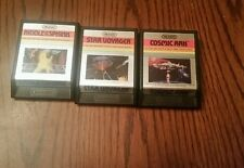 Atari 2600 STAR VOYAGER, Riddle of the Spinks and Cosmic Ark BY IMAGIC