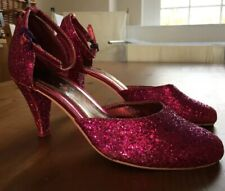 Sparkle Pink Glitter Dance Shoes Modonna Confession On The Dance Floor Heels
