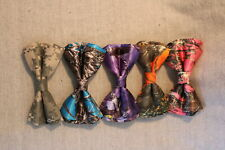 CAMOUFLAGE CAMO ~ Boys' BOW TIE ~ 6 Versions **FREE SHIPPING** Made in USA
