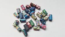 20 x Tubo de Cuentas De Arcilla Polimérica - 10mm-Diseños Mixtos