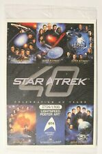 Star Trek 40th Anniversary Box Topper BT4 Voyager 0704/1900 Sealed 5x7 Card