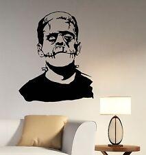 Frankenstein Wall Decal Monster Vinyl Sticker Horror Movie Art Room Decor frk3