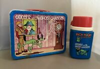Vintage 70's Metal Lunchbox & Thermos Hanna-Barbera Goober And The Ghost Chasers
