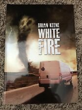 WHITE FIRE Brian Keene Thunderstorm Books SIGNED/# OP PRIOR TO PUBLICATION! New!