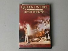 Queen On Fire Live At The Bowl 2 DVD Set Hot Space Tour 1982
